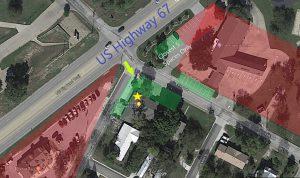 Law School Admission Test (LSAT) Parking Map